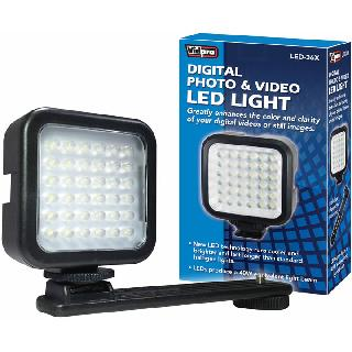 STUDIO LIGHT 36LED W/BRACKET 