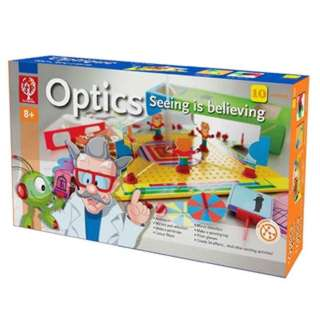 OPTICS KIT SEEING IS BELIEVING 10 EXPERIMENTS