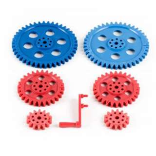 <strong>LS-00040</strong><br>GEAR PLASTIC LARGE SET OF 7PCS 