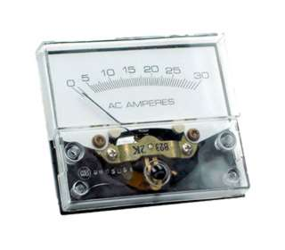 PANEL METER AC 0-30AMP 3X2.5IN 