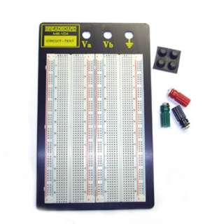 BREADBOARD 4 STRIP 4.5X6.5IN 1660 TIE POINTS & BINDING P