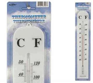 THERMOMETER -28 TO 50C MANUAL 15IN CELSIUS/FAHRENHEIT INDOOR