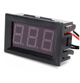 PANEL METER DIGITAL TEMPERATURE -50 TO 100C 5-12V LED WATERPROOF