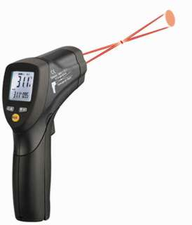 THERMOMETER INFRARED -50 TO 550C/DUAL LASER SIGHTING