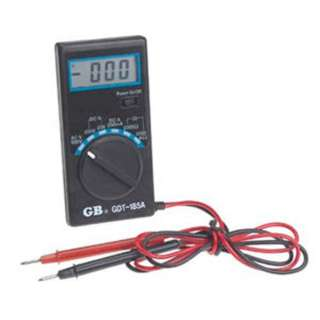 MULTIMETER DIGITAL POCKET SIZE RESISTANCE VOLTAGE AMPERAGE