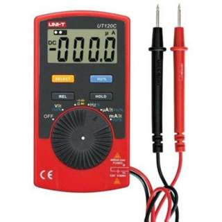 MULTIMETER DIGITAL POCKET SIZE RESISTANCE VOLTAGE CURRENT
