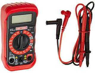 MULTIMETER DIGITAL 10A W/BASIC CATII-600V