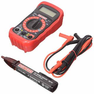 MULTIMETER DIGITAL 10A W/BASIC WITH AC VOLT DETECTOR CATII-600V