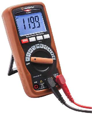 MULTI METER DIGITAL AUTO 10A VOLT/RES/CAP/FREQ/TEMP/CONN CAT3