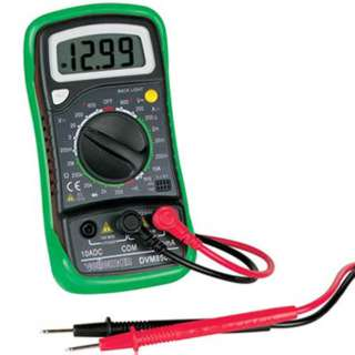 MULTIMETER DIGITAL 10A W/BASIC HFE/DATA HOLD MINI SIZE