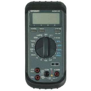 MULTIMETER DIGITAL AUTOMOTIVE DC/AC/AMPS/OHMS/RPM/FREQ./DIODE