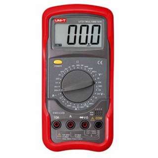 MULTIMETER DIGITAL 10A W/BASIC HFE/DIODE HANDHELD