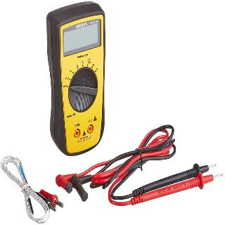MULTIMETER DIGITAL AUTORANGE VOLT RES DIODE TEMP AUTO OFF