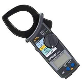 MULTIMETER DIGITAL CLAMP TRMS 2000AAC /750VAC/1KVDC/400KOHM/CO
