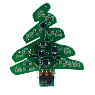 CHRISTMAS TREE SMD KIT WITH USB