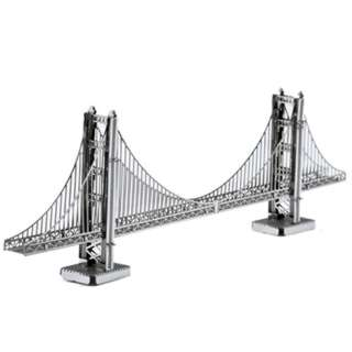 GOLDEN GATE BRIDGE METAL EARTH 3D LASER CUT MODEL