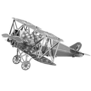 FOKKER D-VII METAL EARTH 3D LASER CUT MODEL