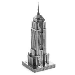 EMPIRE STATE BUILDING METAL EARTH 3D LASER CUT MODEL