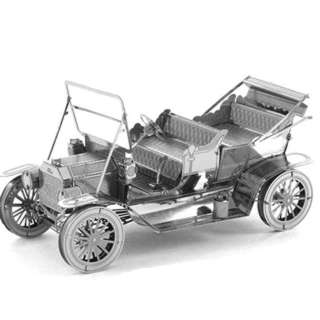 FORD 1908 MODEL T METAL EARTH 3D LASER CUT MODEL