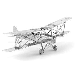 DE HAVILLAND TIGER MOTH METAL EARTH 3D LASER CUT MODEL