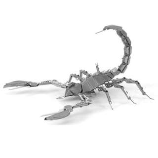 SCORPION METAL EARTH 3D LASER CUT MODEL