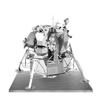 APOLLO LUNAR MODULE METAL EARTH 3D LASER CUT MODEL