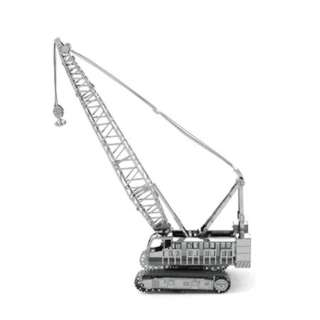 CRAWLER CRANE TWO SHEET 3D METAL MODEL KIT