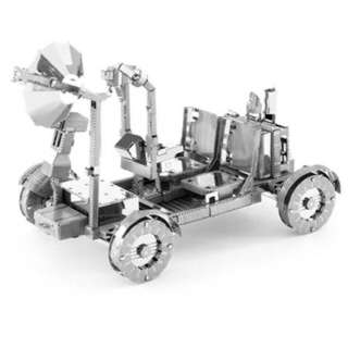 APOLLO LUNAR ROVER TWO SHEET 3D METAL MODEL KIT