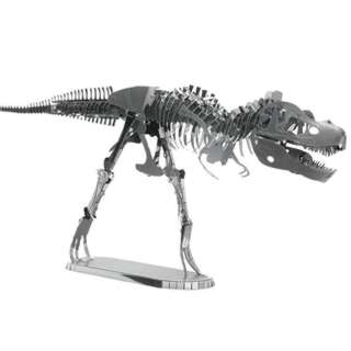 <strong>MMS099</strong><br>TYRANNOSAURUS REX SKELETON-METAL EARTH 3D LASER CUT TWO SHEET KIT