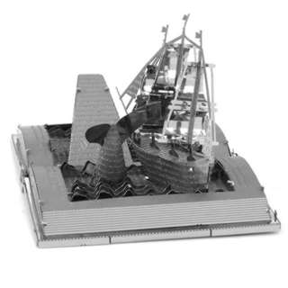 MOBY DICK BOOK SCULPTURE TWO SHEET 3D METAL MODEL KITS