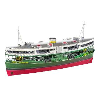 HONG KONG STAR FERRY METAL EARTH 3D METAL MODEL KITS