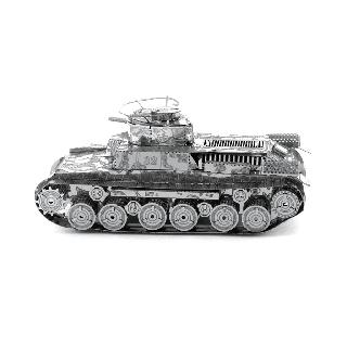 CHI HA TANK METAL EARTH 3D LASER CUT MODEL