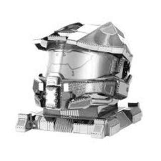 MASTER CHIEF METAL EARTH 3D LASER CUT MODEL