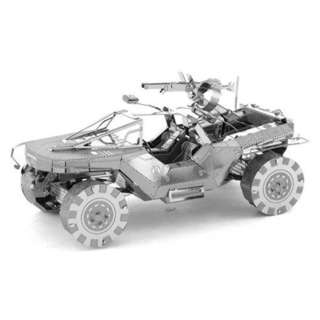 WARTHOG METAL EARTH 3D LASER CUT MODEL