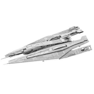 ALLIANCE CRUISER METAL EARTH 3D LASER CUT MODEL