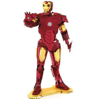 IRON MAN METAL EARTH 3D LASER CUT MODEL