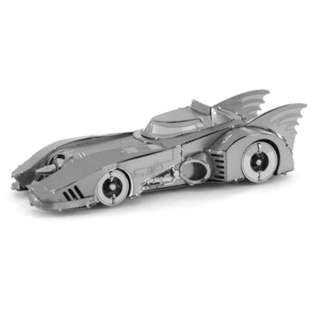 BATMOBILE METAL EARTH 3D LASER CUT MODEL