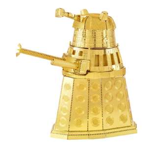 DALEK GOLD METAL EARTH 3D METAL MODEL KITS