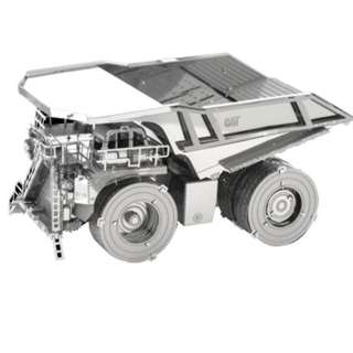 MINING TRUNK METAL EARTH 3D LASER CUT MODEL