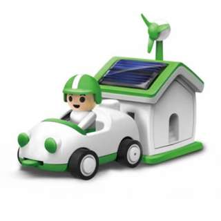 SOLAR RECHARGEBLE KIT PLUG-IN GREEN LIFE