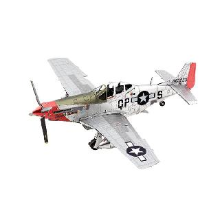 P-51D MUSTANG METAL EARTH 2-SHEET MODEL KIT