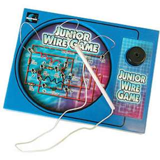WIRE GAME TOUCH THE WIRE BUZZER WILL SOUND