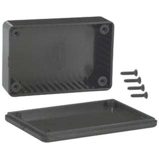 PROJECT BOX 3.3X2.2X1IN PLAS BLK 
