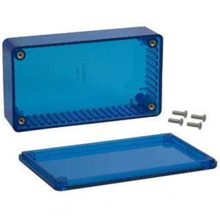 PROJECT BOX 4.4X2.4X1.2IN PLAS BLUE