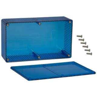 PROJECT BOX 7.5X4.3X2.4IN PLAS BLUE