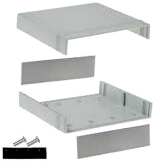 PROJECT BOX 7X8.1X2.5IN PLAS GRY 