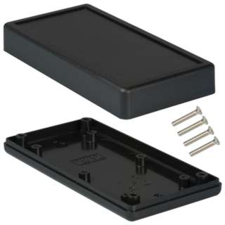 PROJECT BOX 5X2.5X1IN PLAS BLACK 