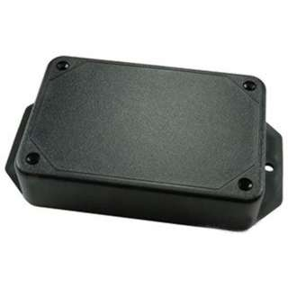 PROJECT BOX 5X2.9X1IN PLASTIC BLACK FLANGED BASE