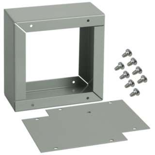 PROJECT BOX 4X2X4INCH METAL GREY 