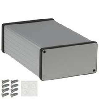 PROJECT BOX 6.3X4X2IN ALUMINUM 